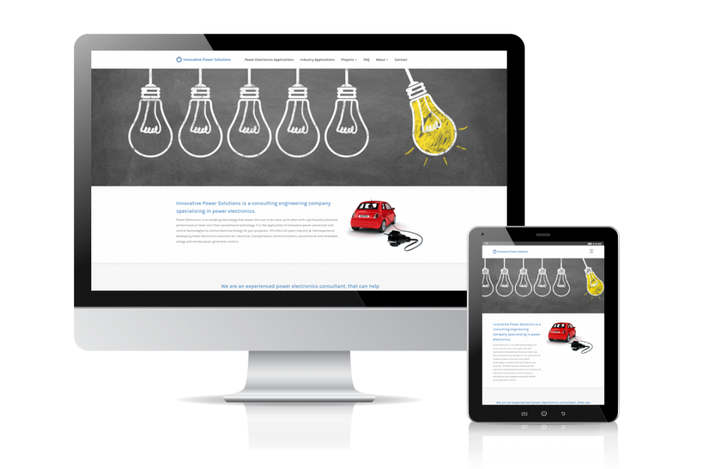 Innovative Power Solutions Website
