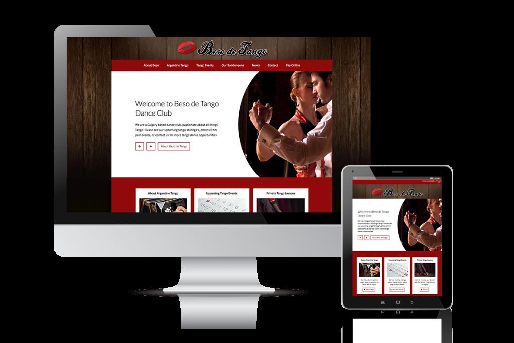Beso de Tango Website