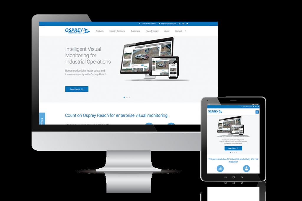 Osprey Informatics Website