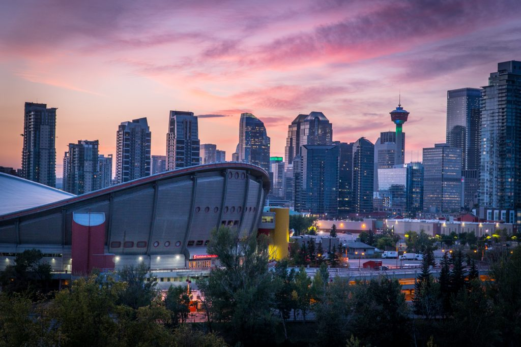 Calgary Sunset Photography