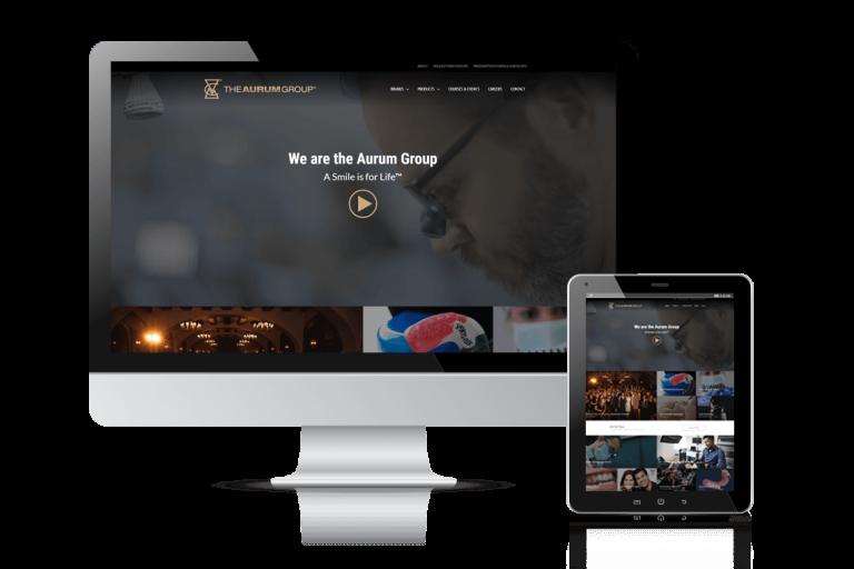 Aurum Group Website