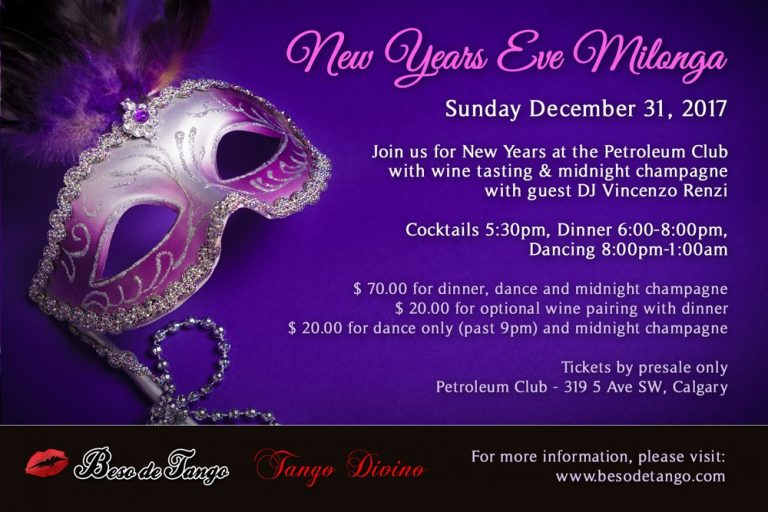 New Years Invitation Design
