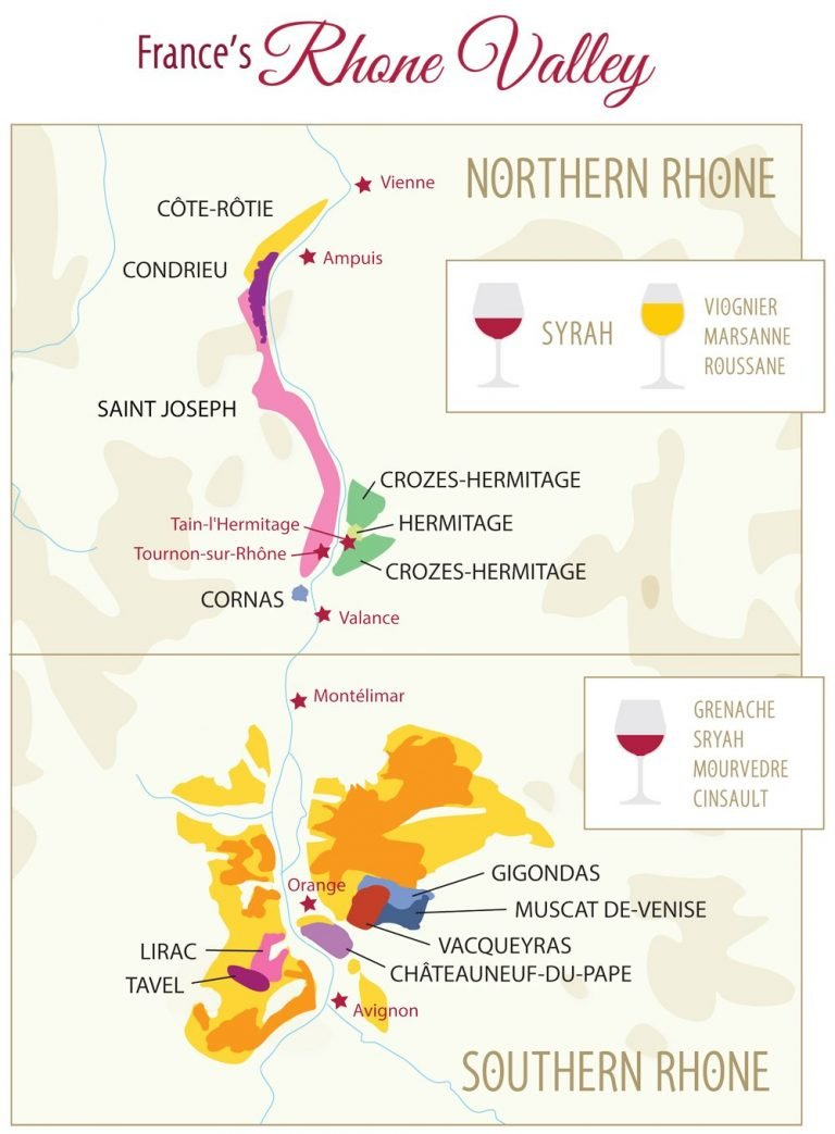 France Wine Map Design