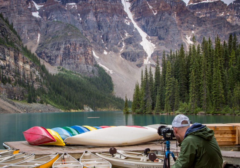 Capturing Moraine Lake